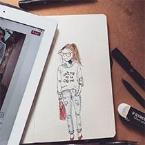 Tici Pinzon, ilustradora e aquarelista